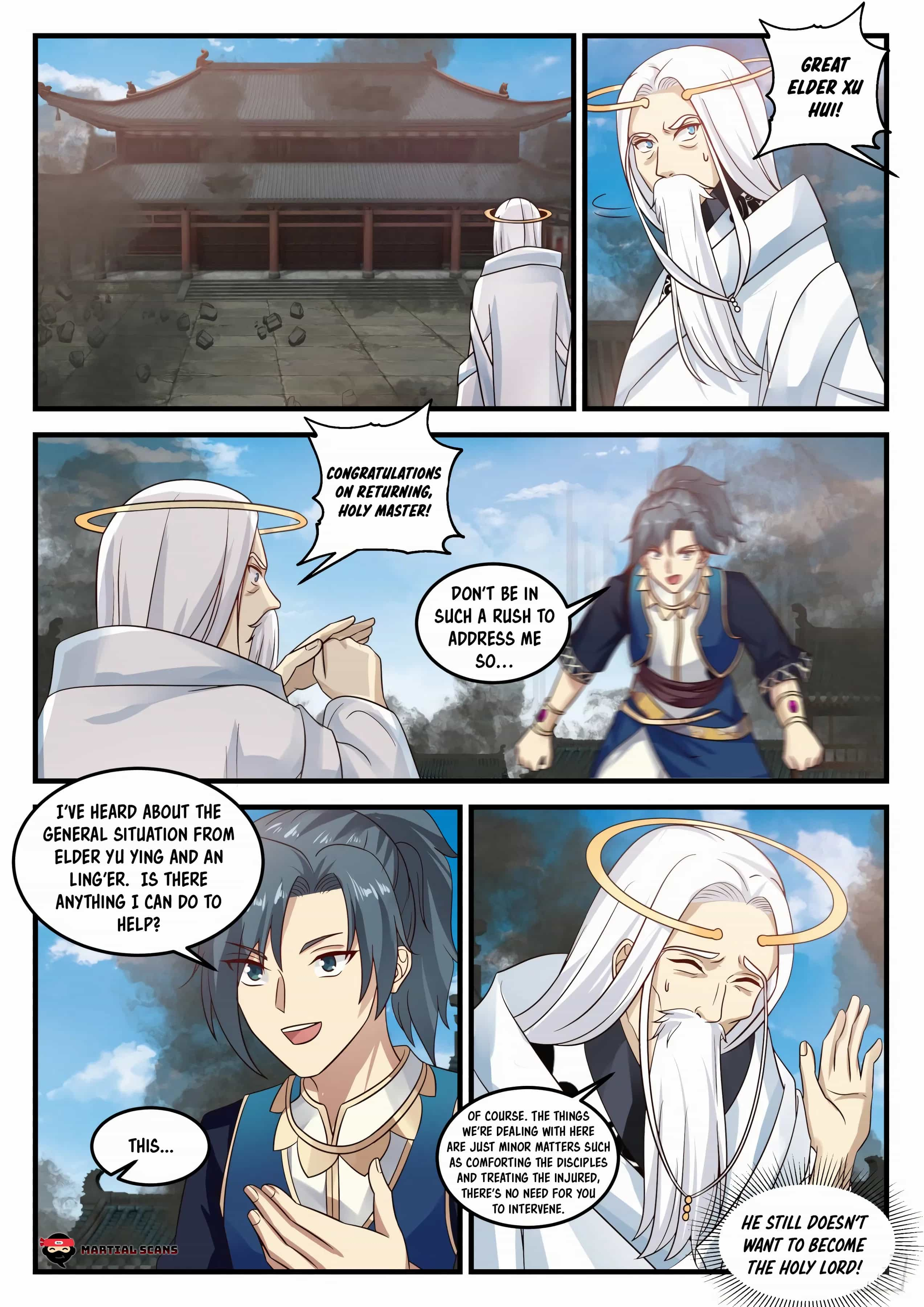 Martial Peak - chapter 721-eng-li