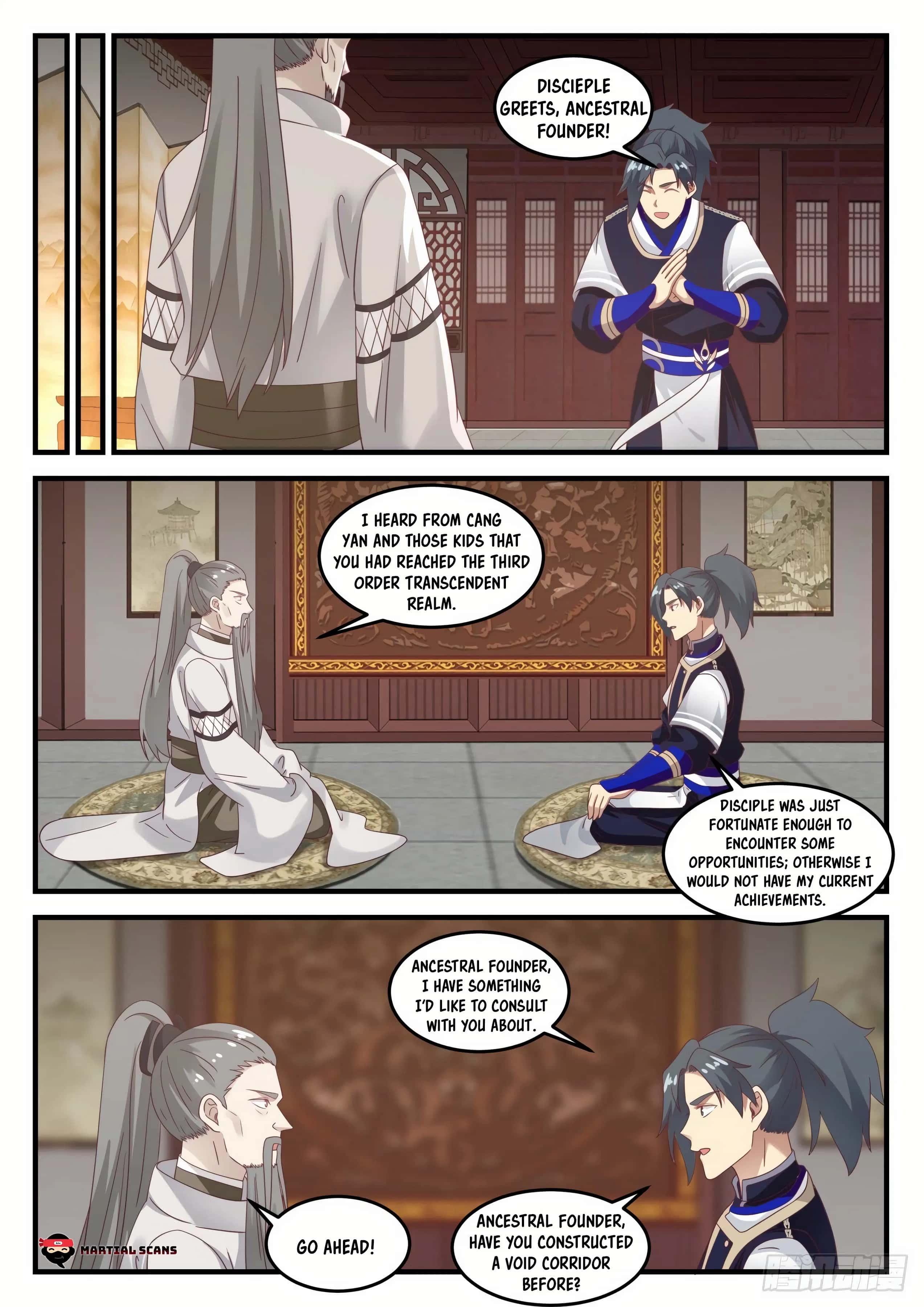 Martial Peak - chapter 731-eng-li