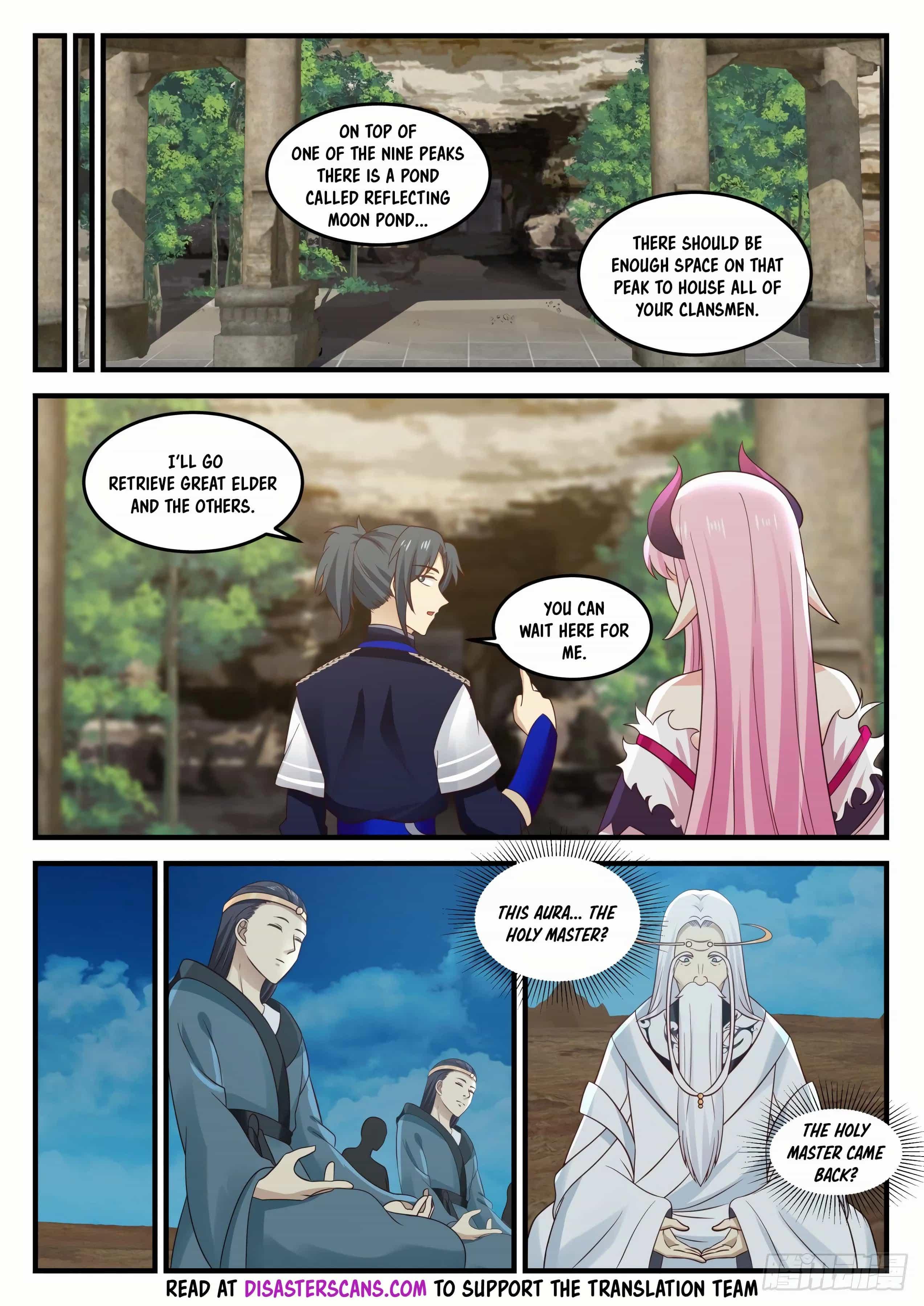 Martial Peak - chapter 742-eng-li