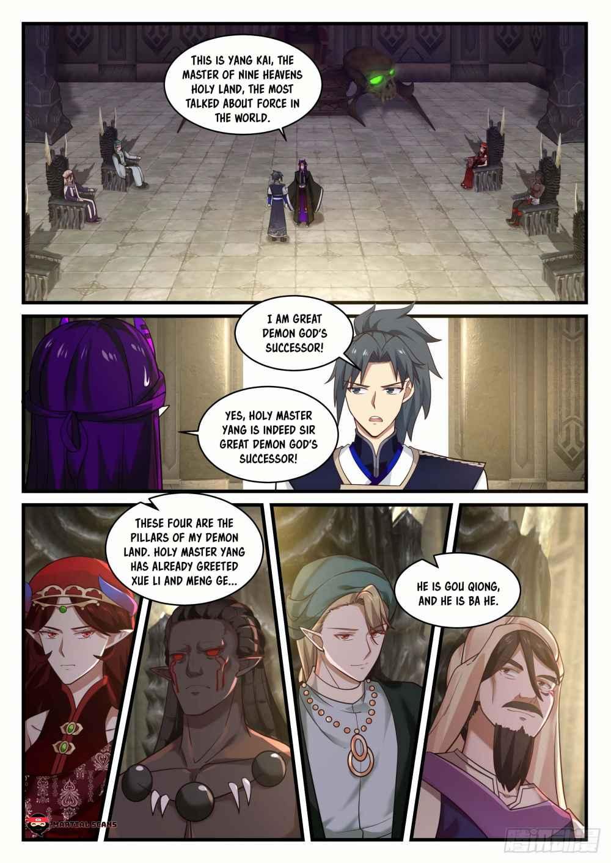 Martial Peak - chapter 823-eng-li