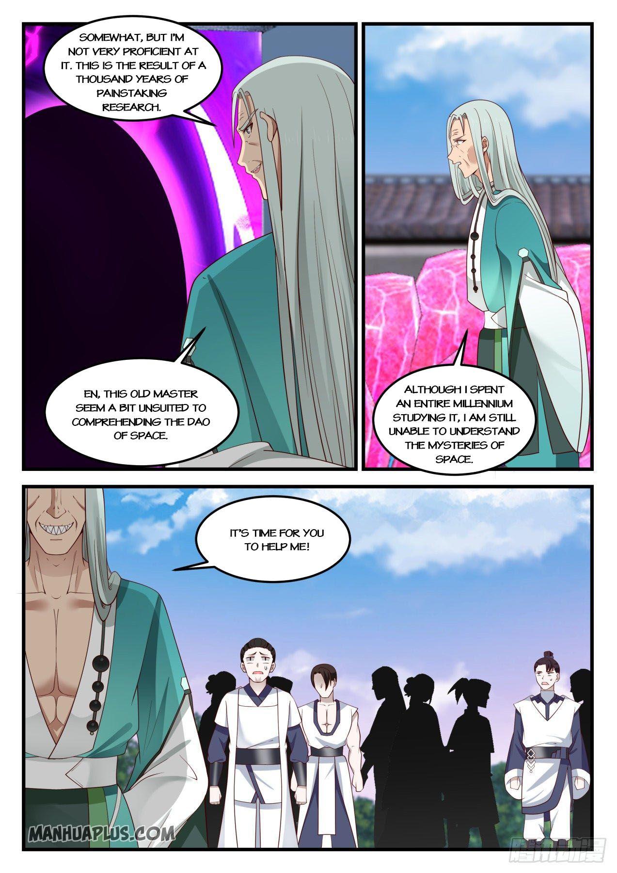 Martial Peak - chapter 873-eng-li