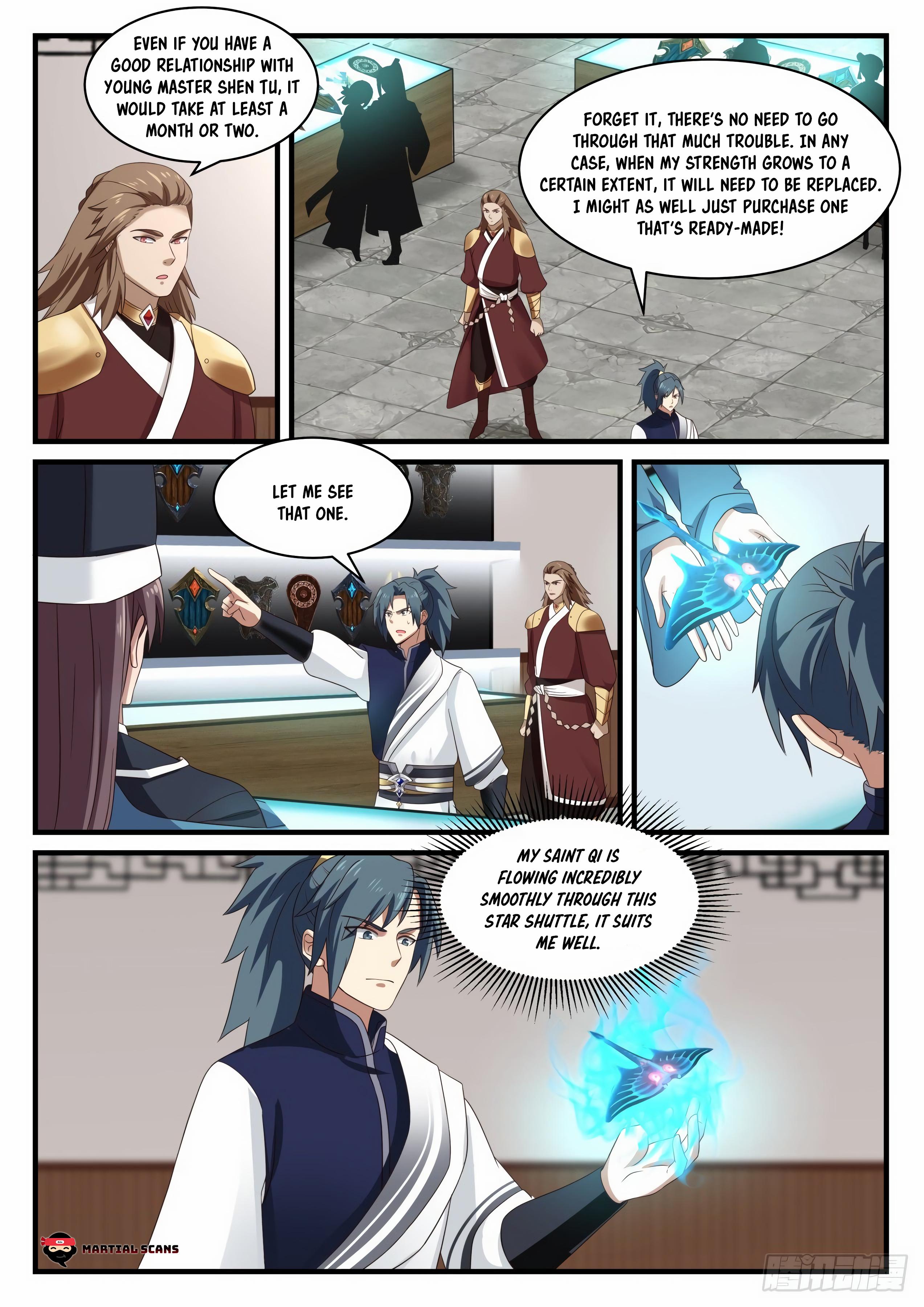 Martial Peak - chapter 907-eng-li
