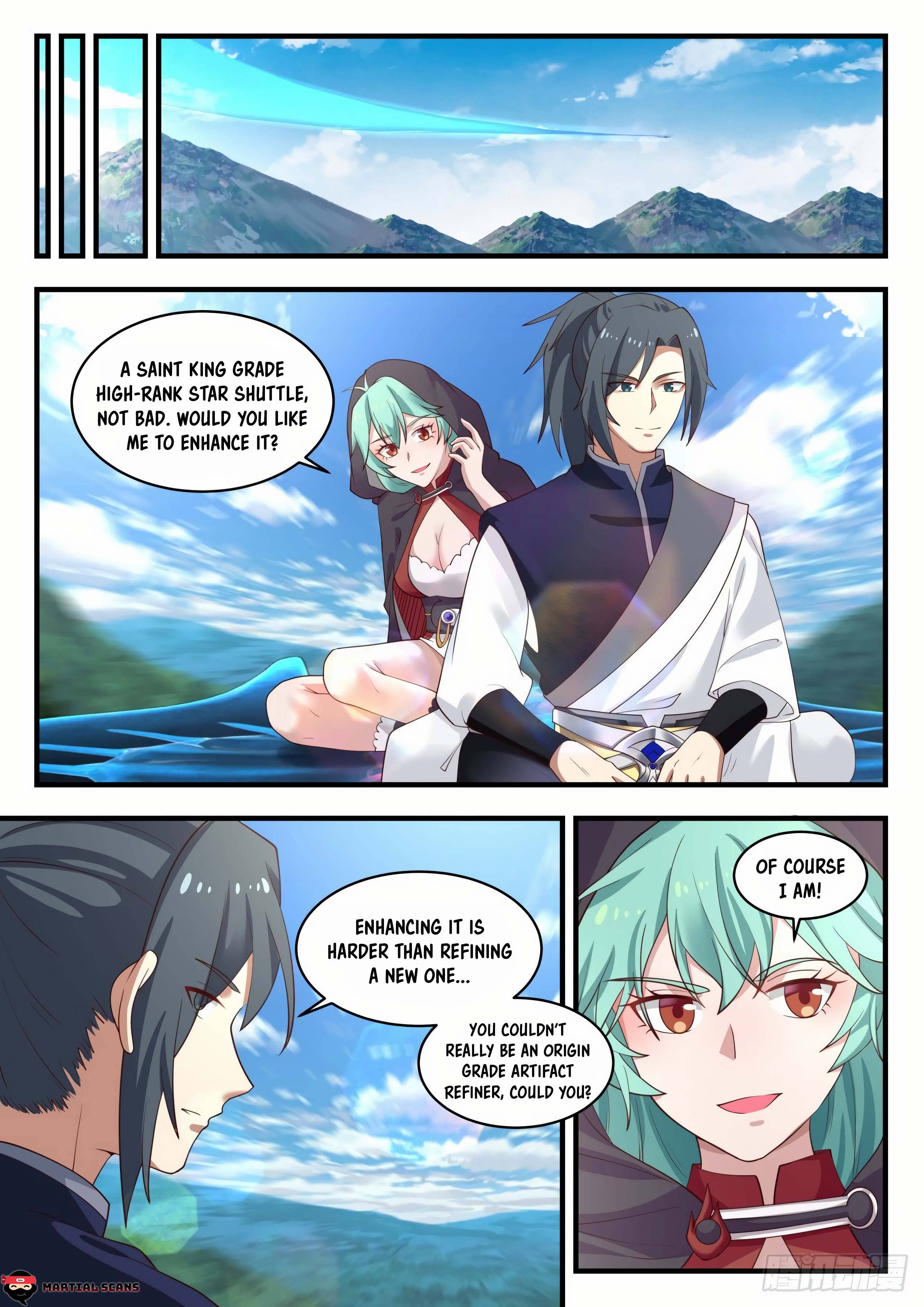 Martial Peak - chapter 990-eng-li