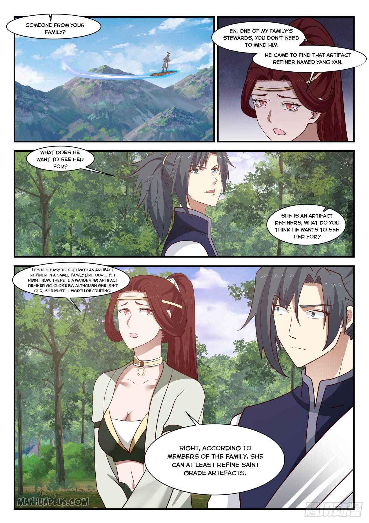 Martial Peak - chapter 993-eng-li