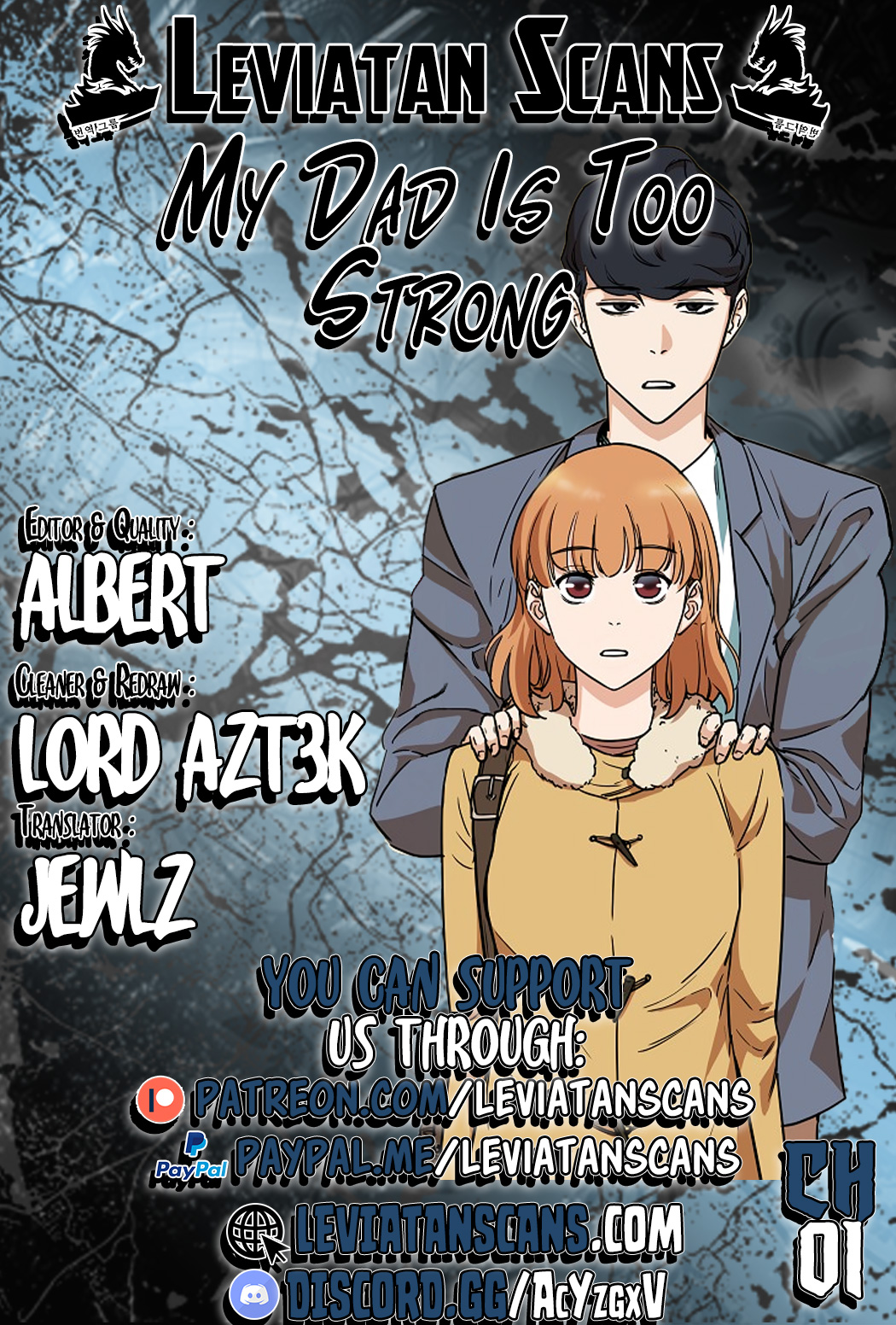 My Dad Is Too Strong - chapter 1-eng-li