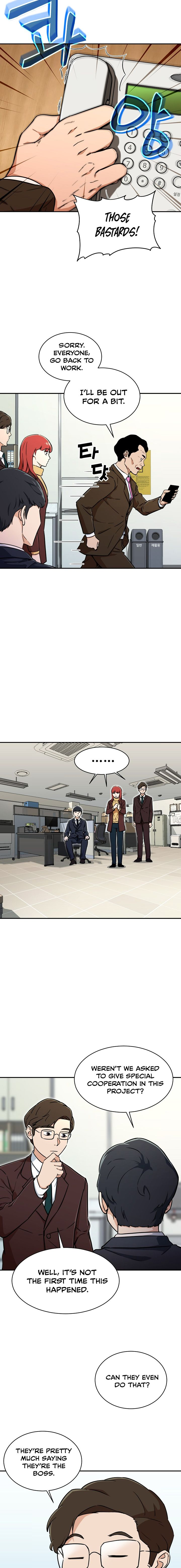 My Dad Is Too Strong - chapter 35-eng-li