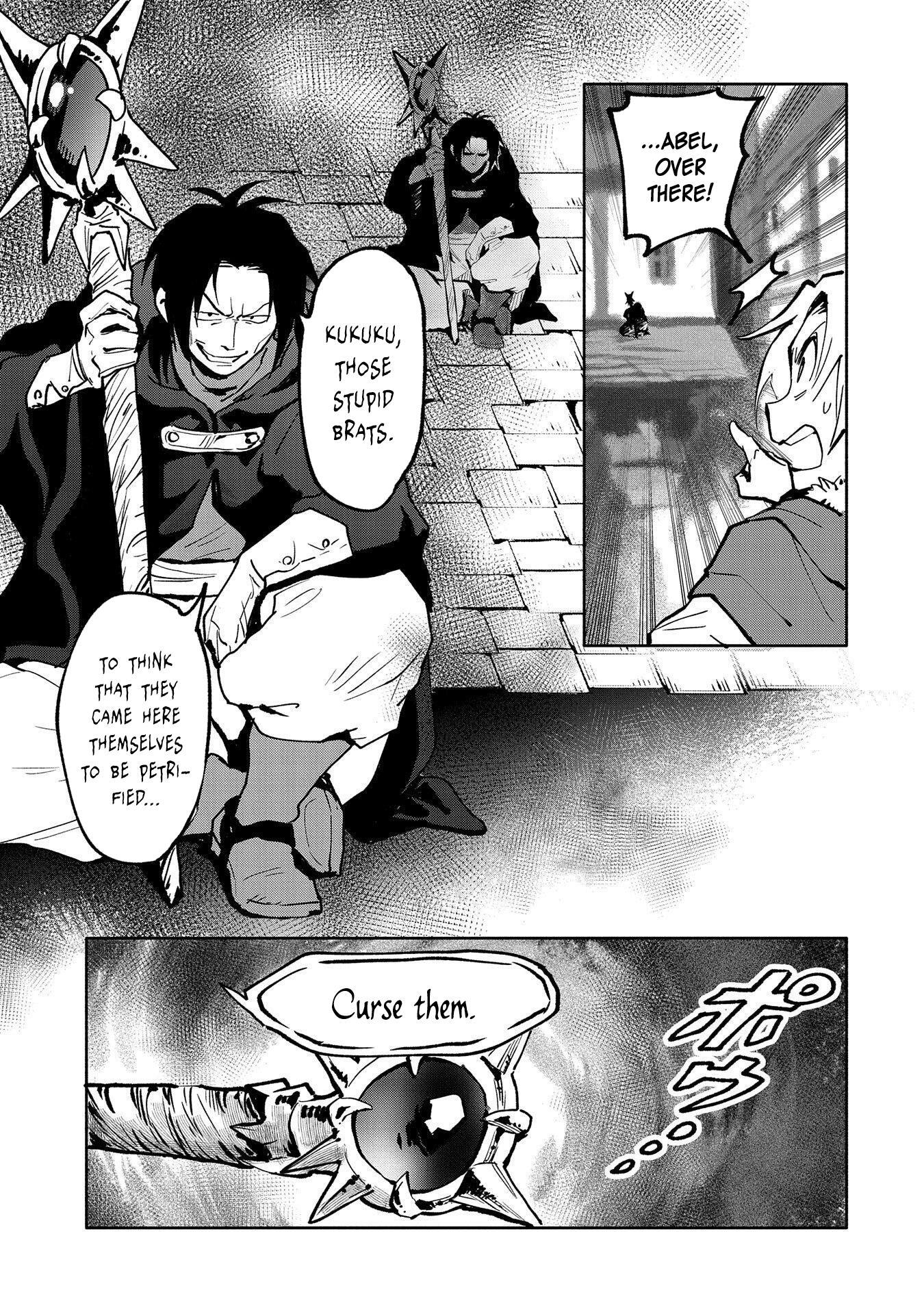 Strongest Curse Clan Reincarnation: A Magic User's Utopia - chapter 18-eng-li