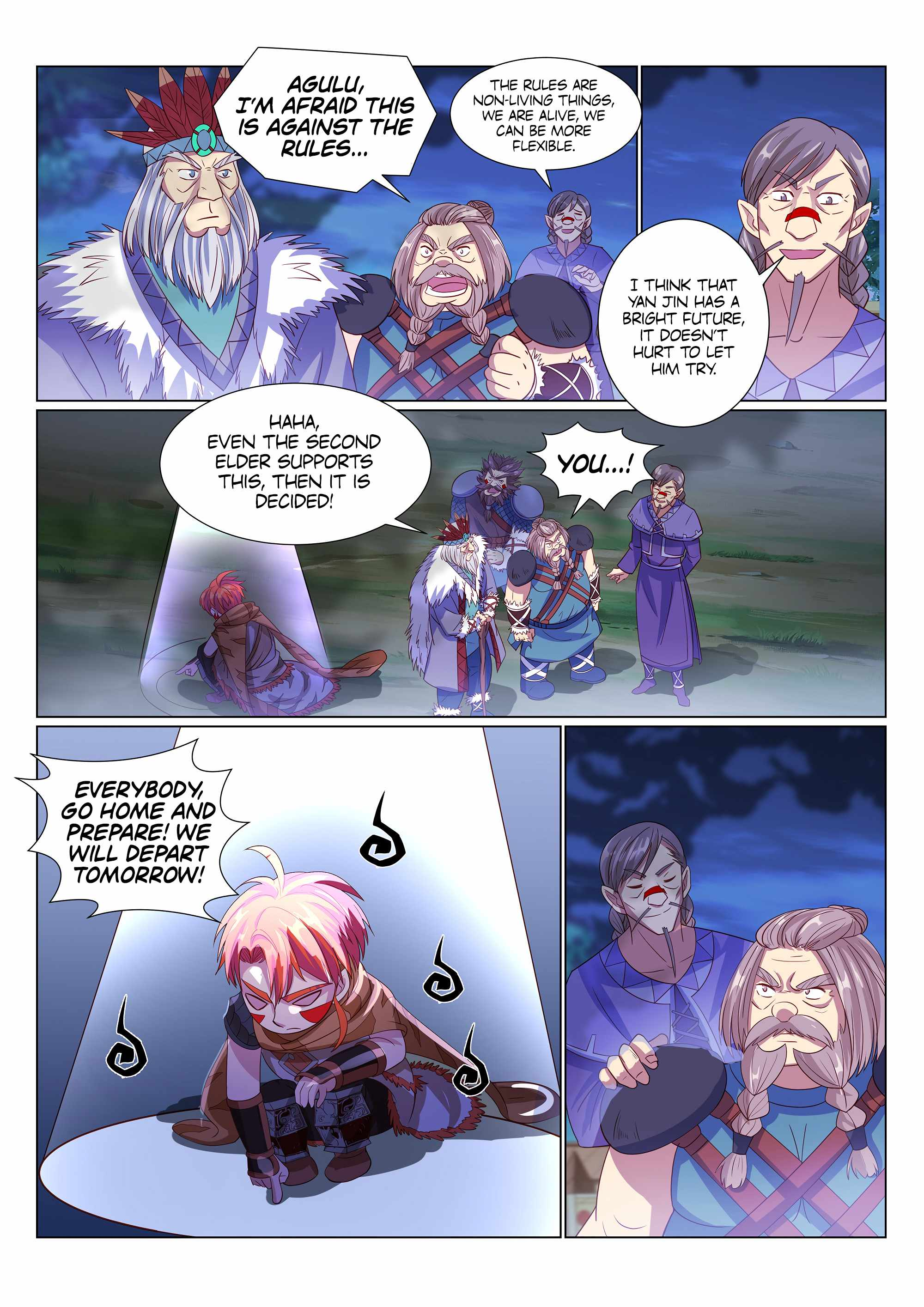 Strongest Caveman - chapter 25-eng-li