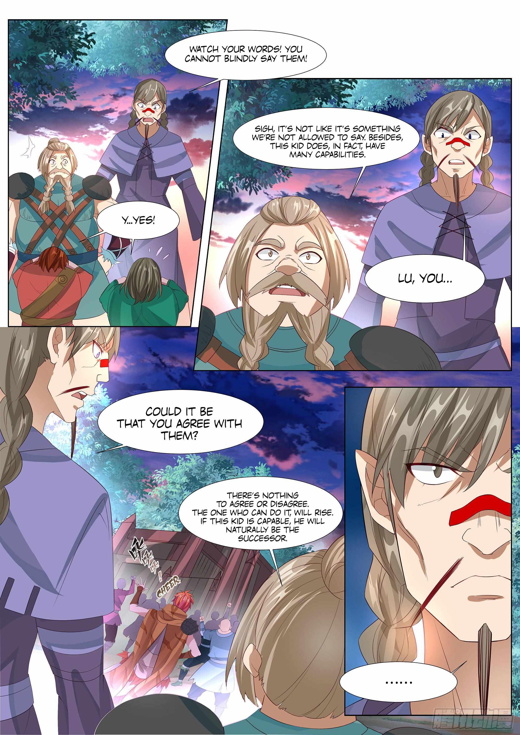 Strongest Caveman - chapter 36-eng-li