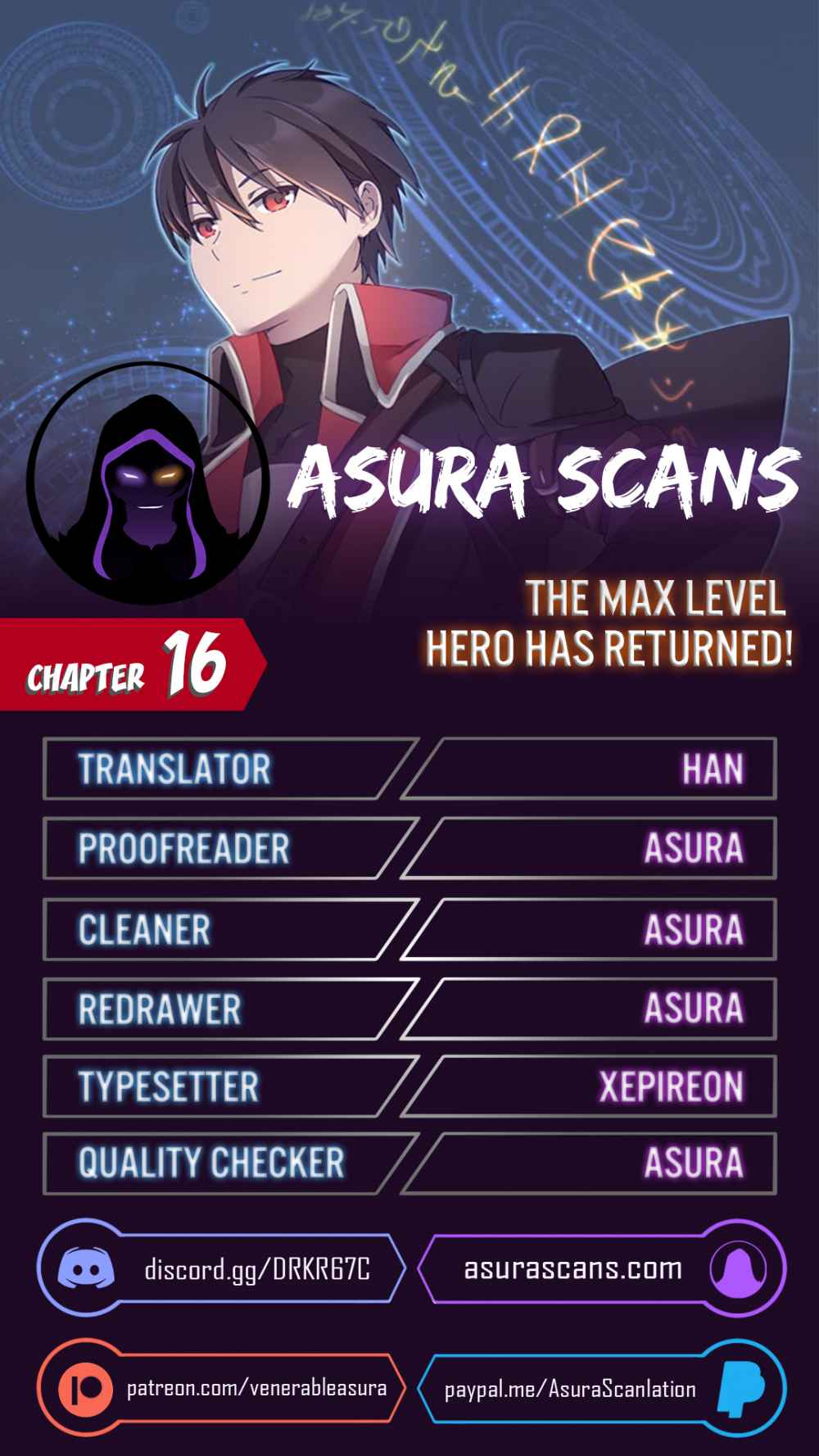 The Max Level Hero has Returned! - chapter 16-eng-li