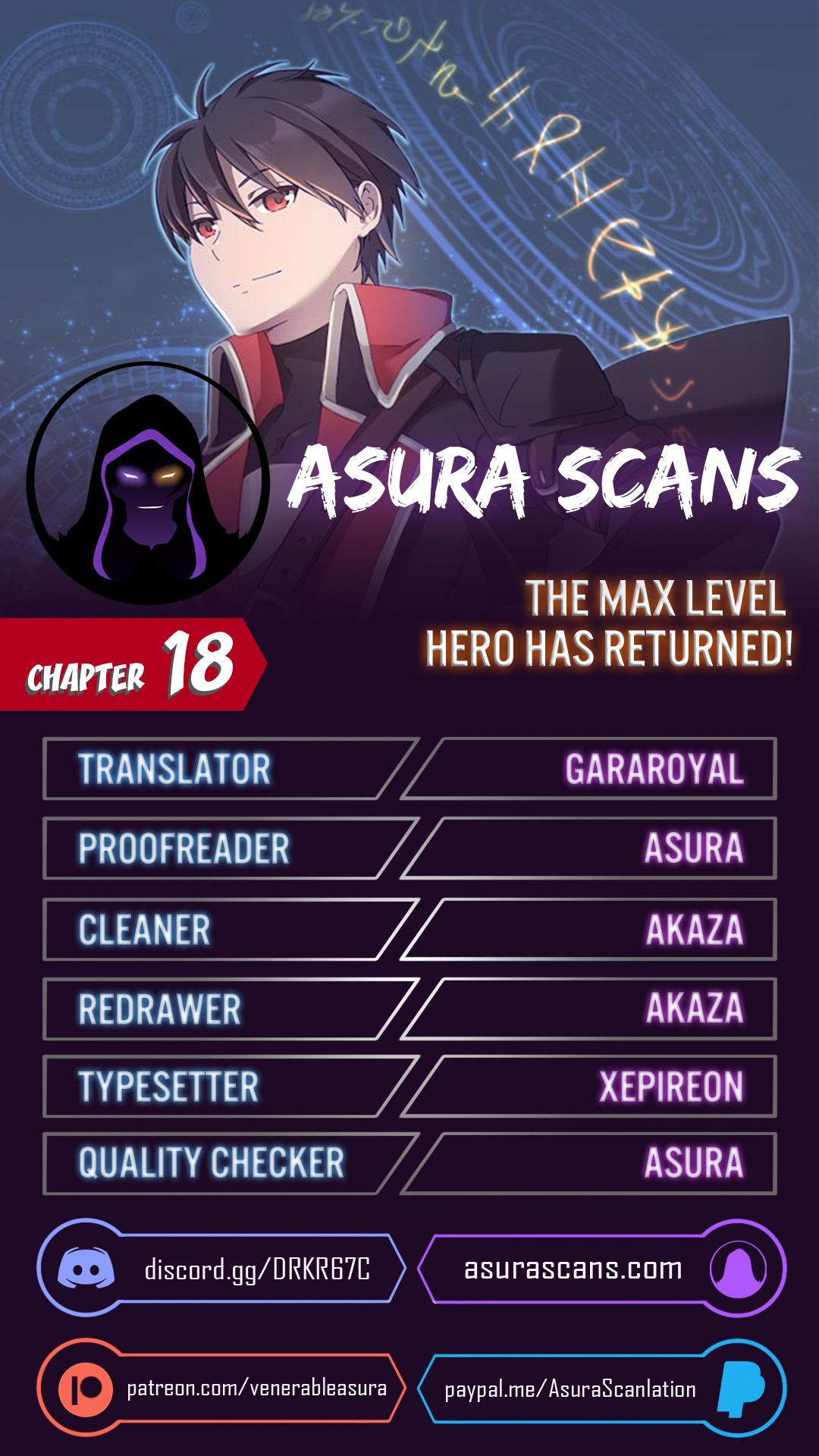 The Max Level Hero has Returned! - chapter 18-eng-li
