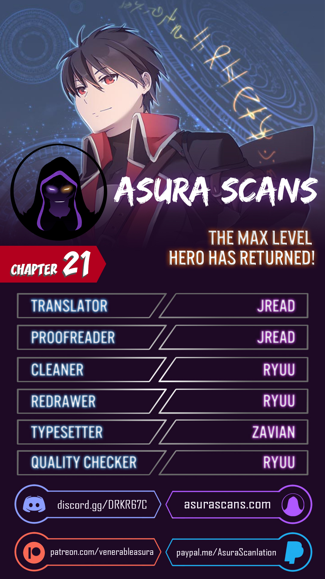 The Max Level Hero has Returned! - chapter 21-eng-li