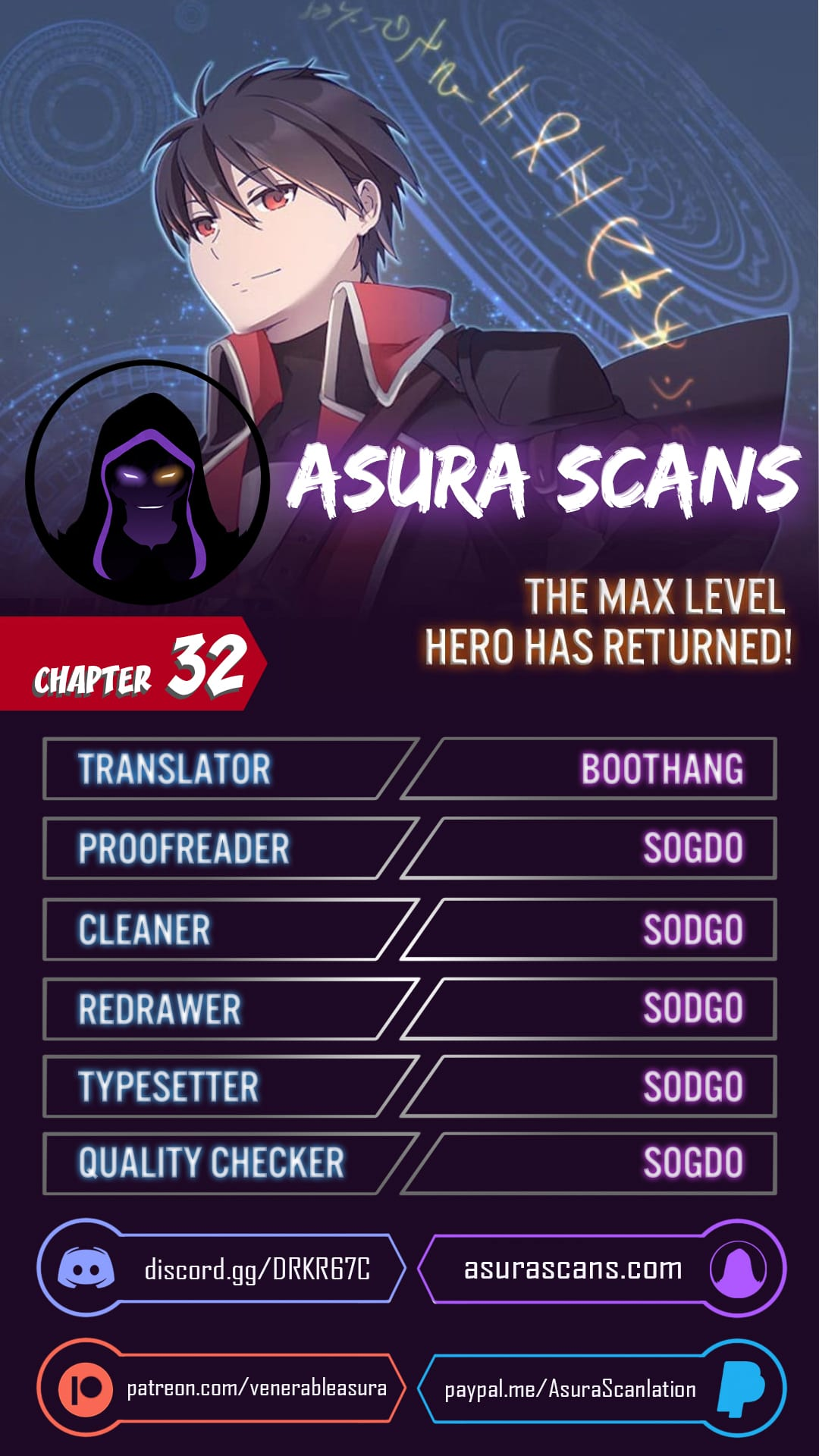 The Max Level Hero has Returned! - chapter 32-eng-li