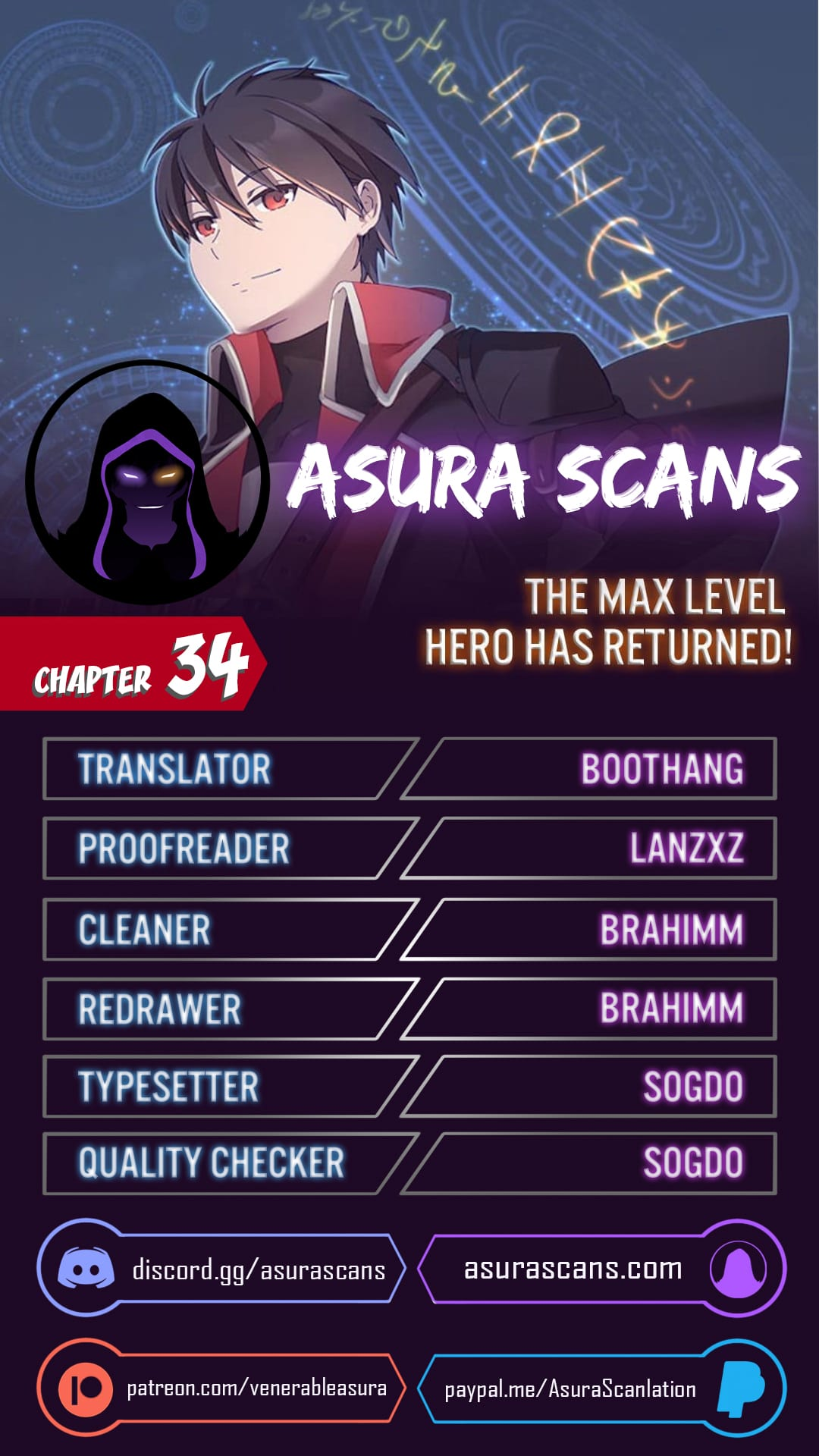 The Max Level Hero has Returned! - chapter 34-eng-li