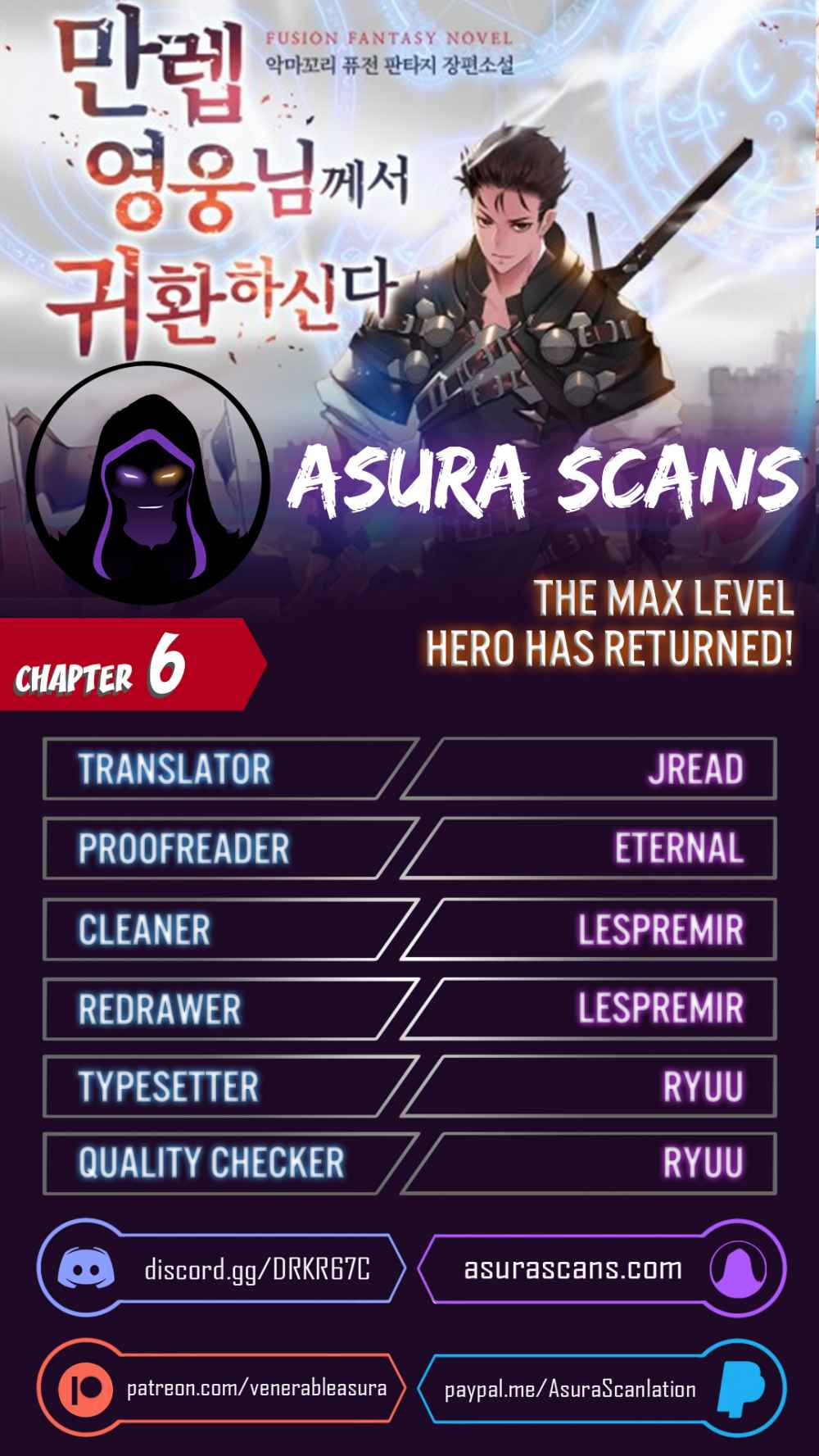 The Max Level Hero has Returned! - chapter 6-eng-li