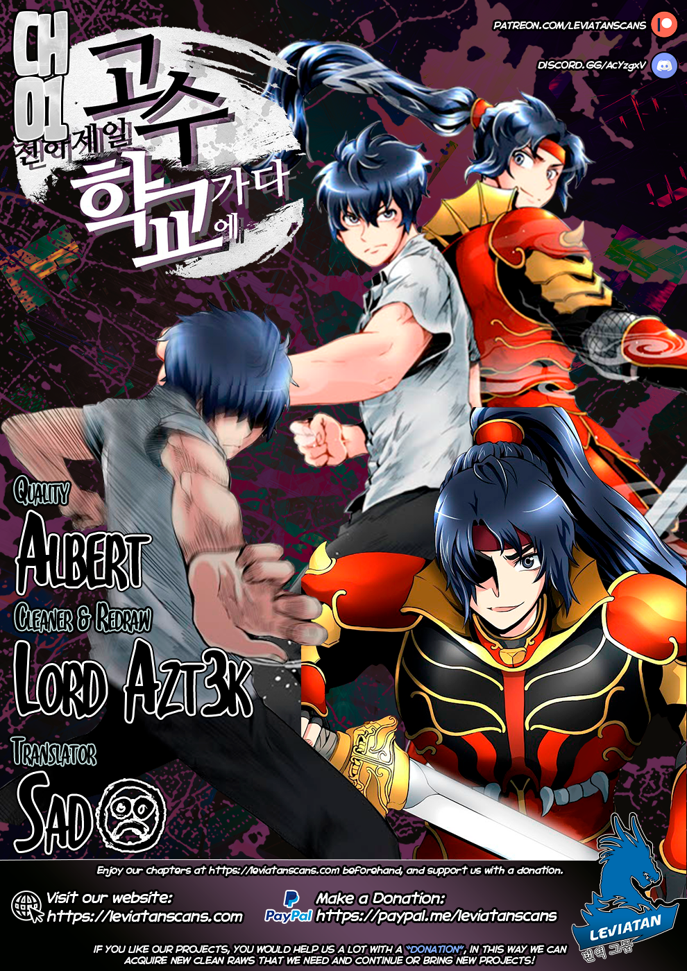 The Strongest Warlord Goes to School - chapter 1-eng-li