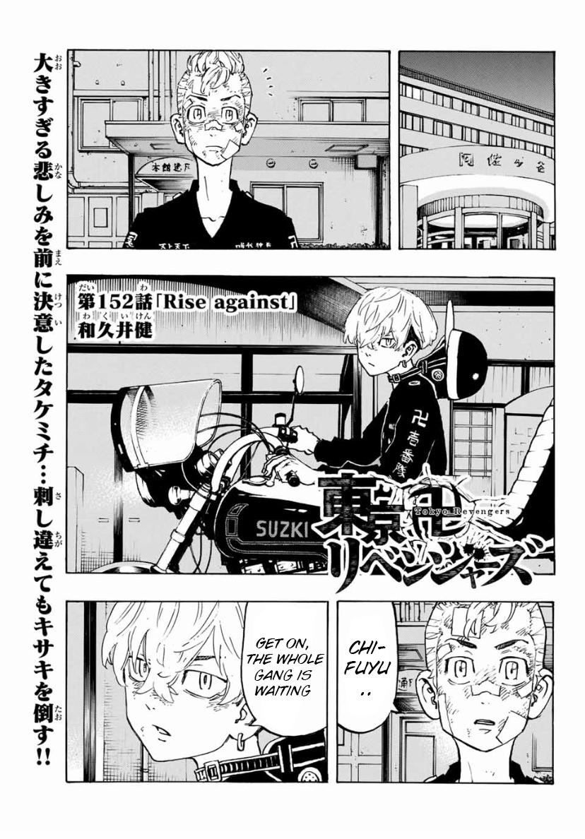 Manga Tokyo Manji Revengers Chapter 152 Eng Li
