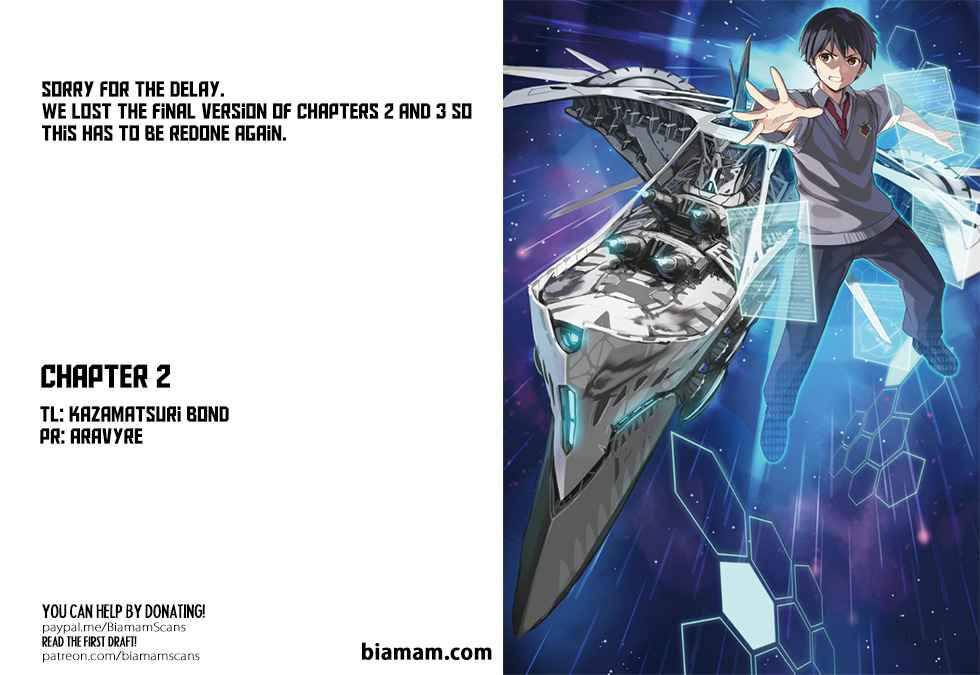 Unparalleled Path ~ Reincarnated as the AI for a Space Battleship ~ - chapter 2-eng-li