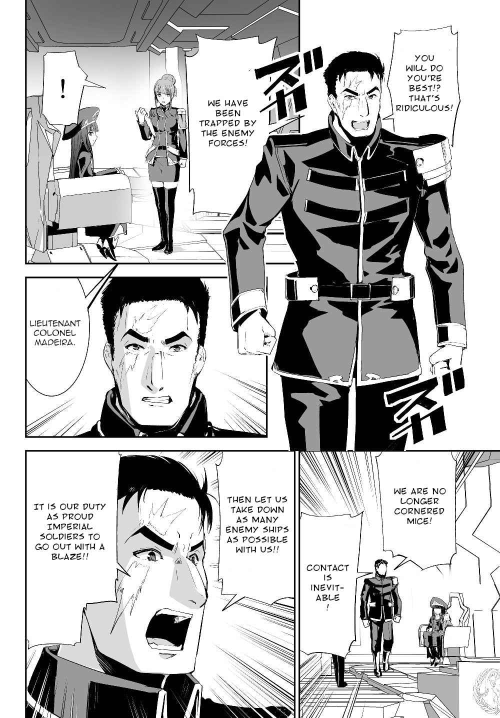 Unparalleled Path ~ Reincarnated as the AI for a Space Battleship ~ - chapter 3-eng-li