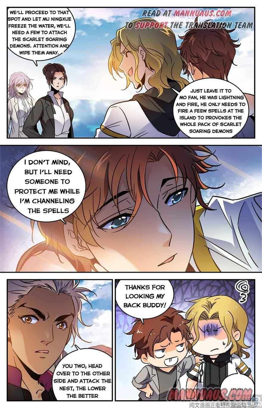 Versatile Mage - chapter 465-eng-li