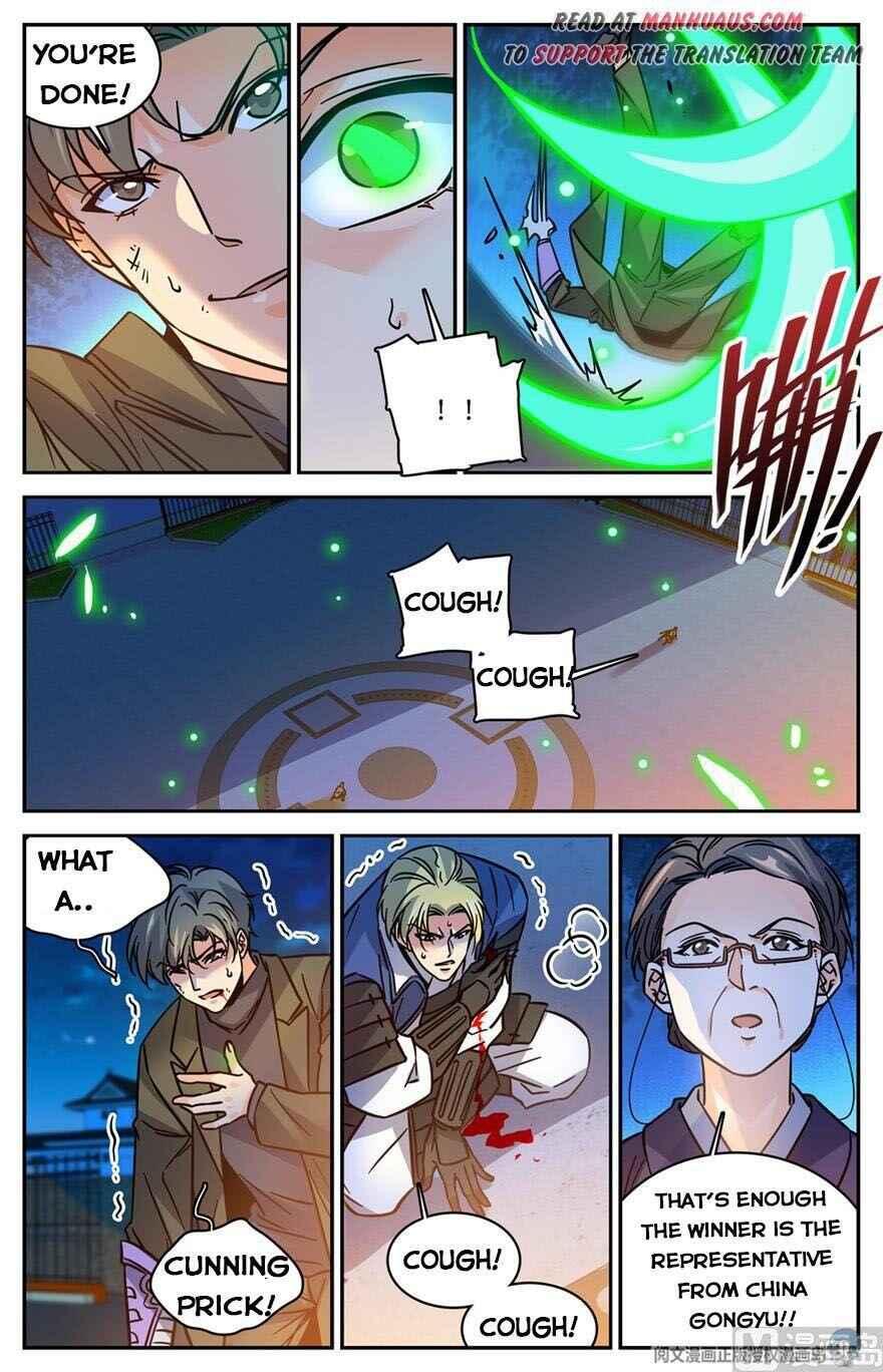 Versatile Mage - chapter 492-eng-li