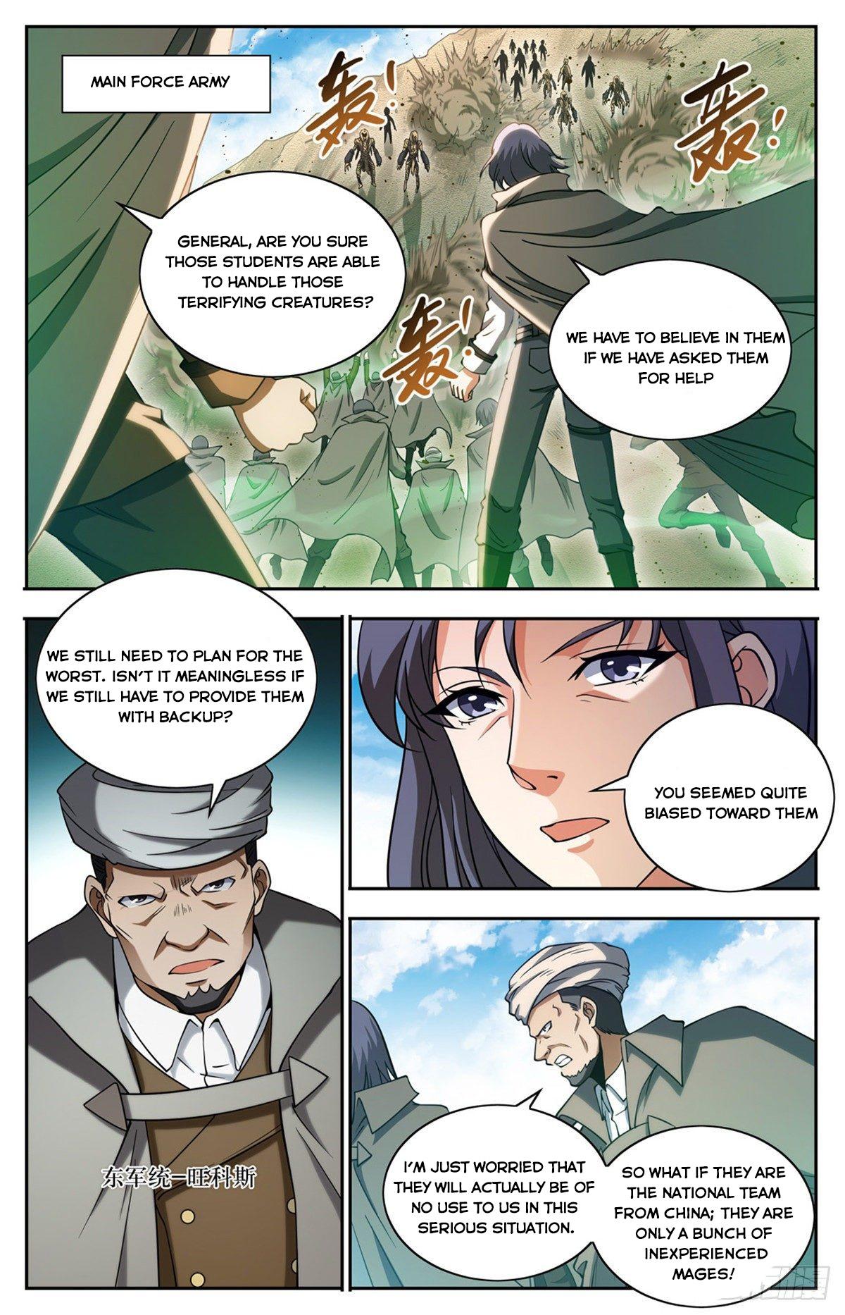 Versatile Mage - chapter 663-eng-li
