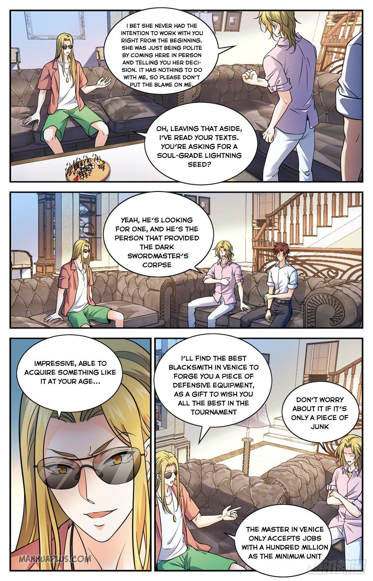 Versatile Mage - chapter 672-eng-li