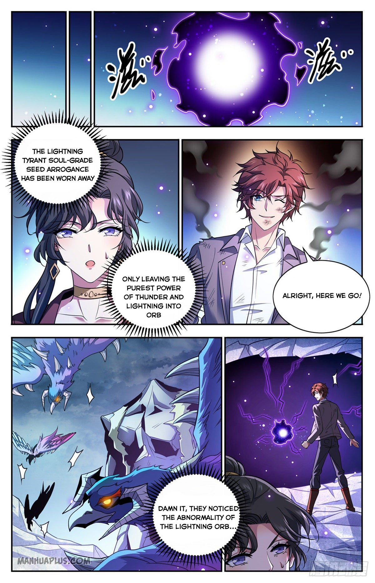 Versatile Mage - chapter 675-eng-li